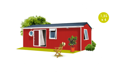 O'HARA 734 2CH – Mobil home neuf – Gamme LOCATIVE