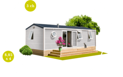 O'HARA 884 3 CH – Mobil home neuf – Gamme LOCATIVE