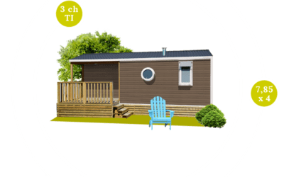 O'HARA 784 T – Mobil home neuf – Gamme LOCATIVE