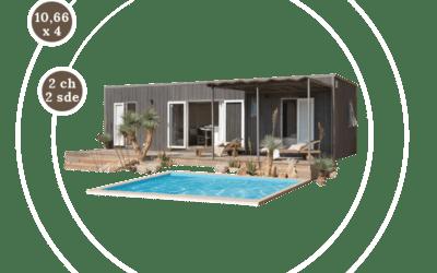 KEY WEST 2CH – Mobil home neuf – RESIDENTIEL