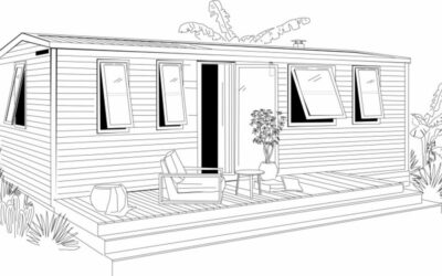 Ohara 884 3ch Côté Jardin – 2022 – Mobil home Neuf – 3 chambres – Collection 2022