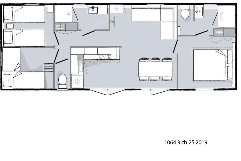 plan intérieur - Ohara 1064 - 2019