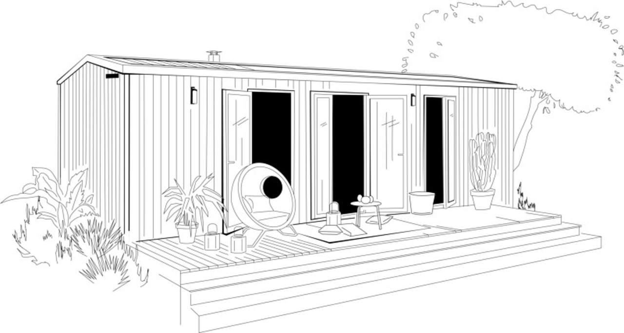 O'HARA 865 2SDB - 2022 - Mobil home Neuf - Zen Mobil homes