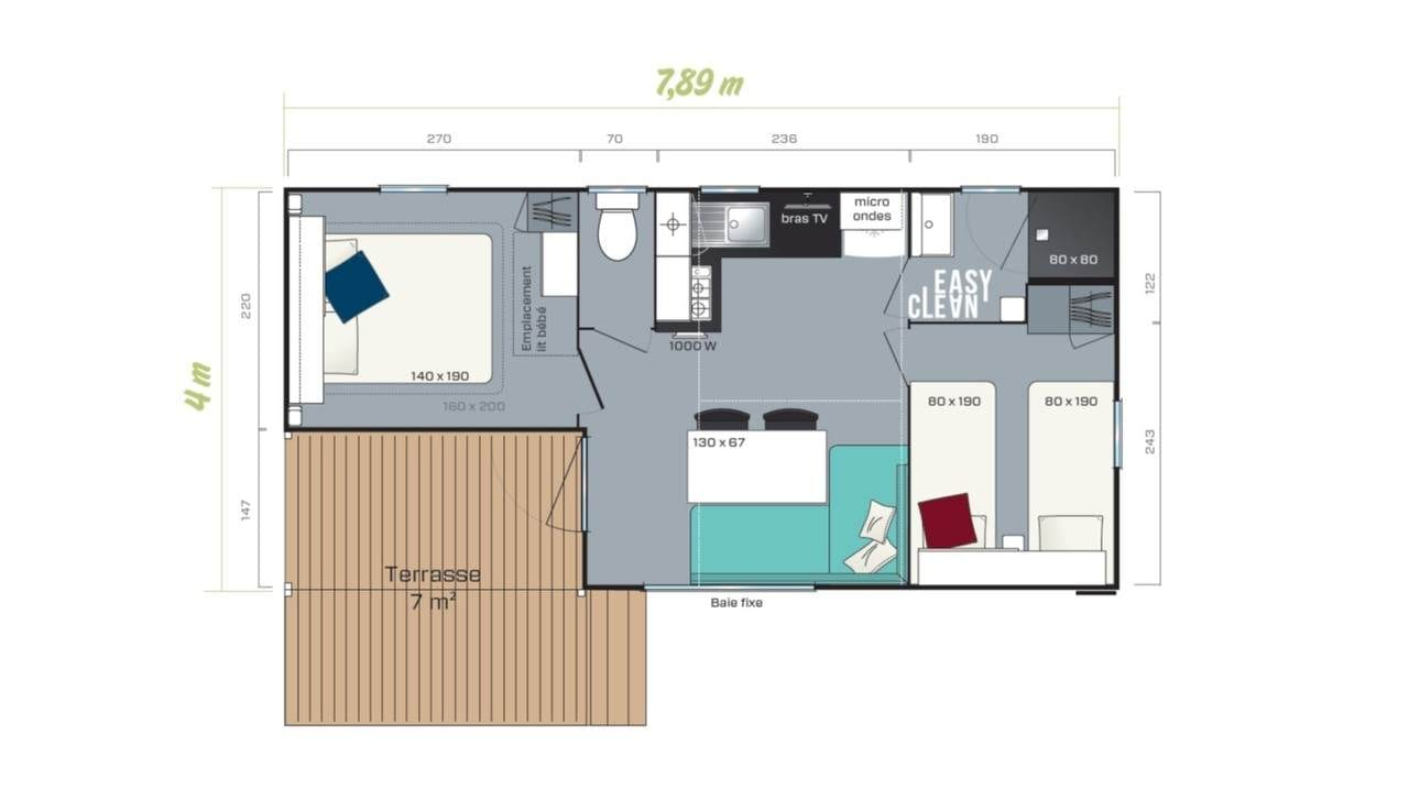 IRM LOGGIA 2 - 2020 - Mobil Home Neuf - Zen Mobil homes