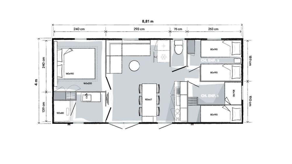 Plan intérieur - Ohara 884 - 2019