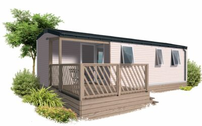 IRM LOGGIA 3 – 2022 – Mobil Home Neuf – Gamme LOGGIA – 3 Chambres – Collection 2022
