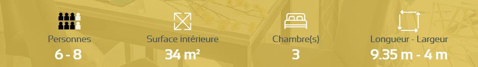 RIDOREV SANTAFÉ TRIO - Mobil home neuf - 2019 - Zen Mobil homes