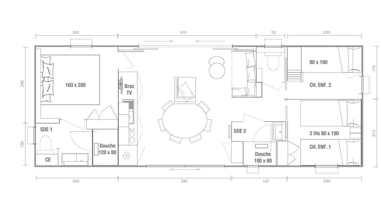 O'HARA KEY WEST 3 - 2020 - Mobil home Neuf - Zen Mobil homes