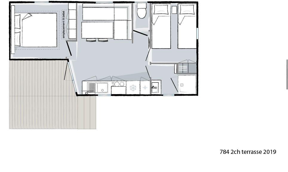 Plan intérieur Ohara 784 T - 2019