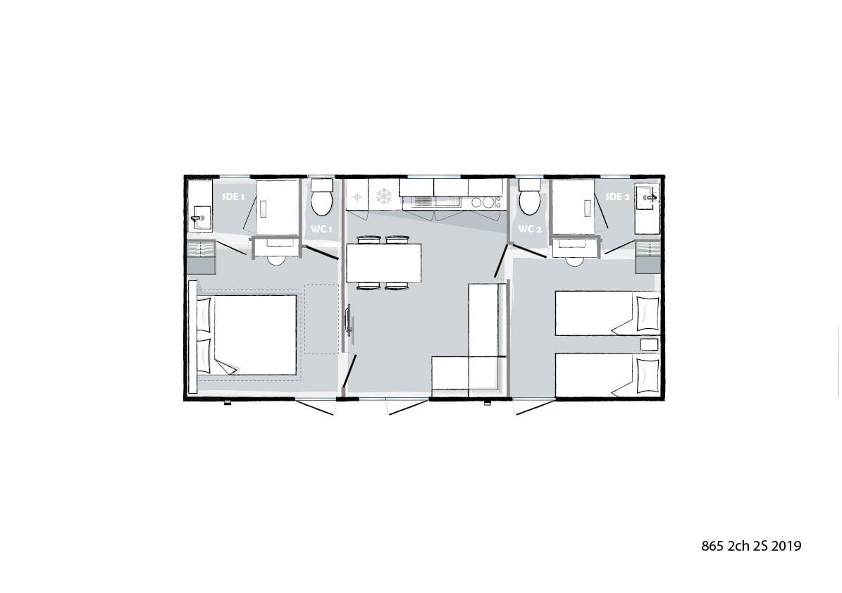 Plan intérieur - Ohara 865 - 2019