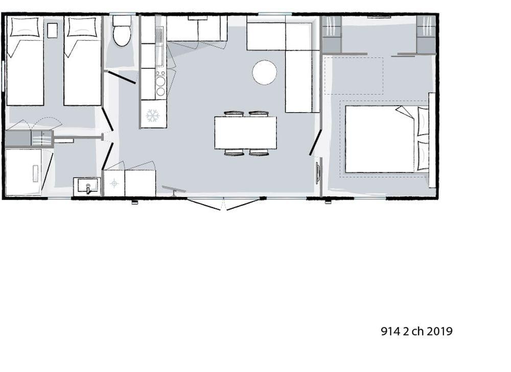 Plan intérieur Ohara 914 - 2019
