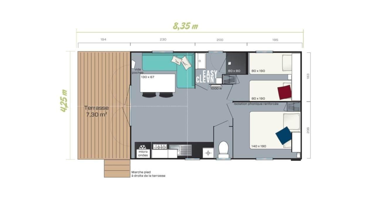 IRM LOGGIA BAY - 2020 - Mobil home Neuf - Zen Mobil homes