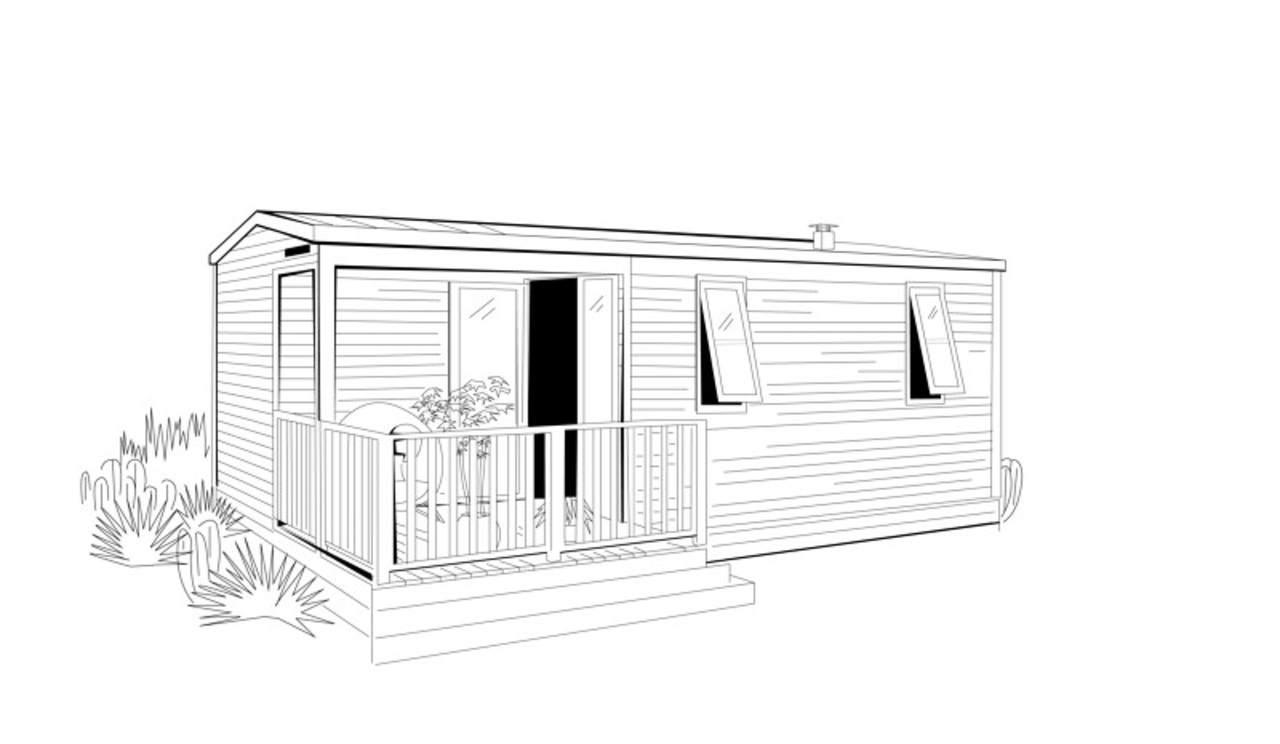 O'HARA 784 TERR – 2022 – Mobil home Neuf – 2 Chambres – Collection 2022