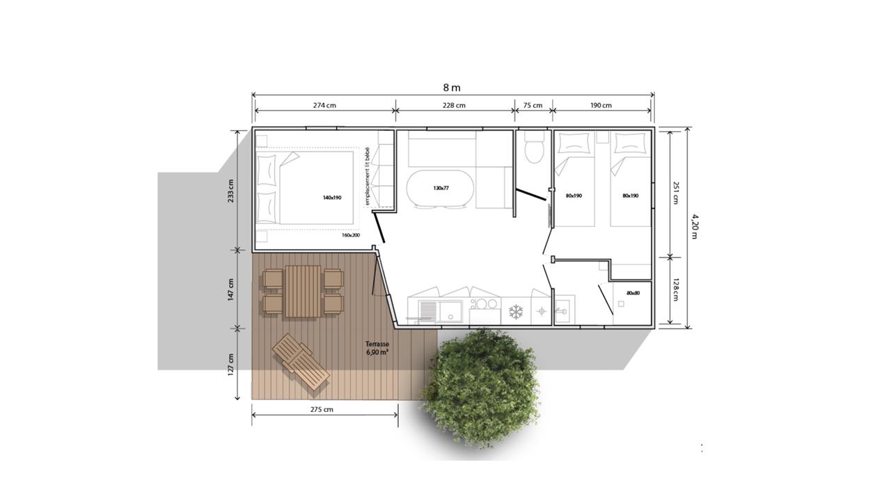 O'HARA 784 TERR - 2022 - Mobil home Neuf - Collection 2022