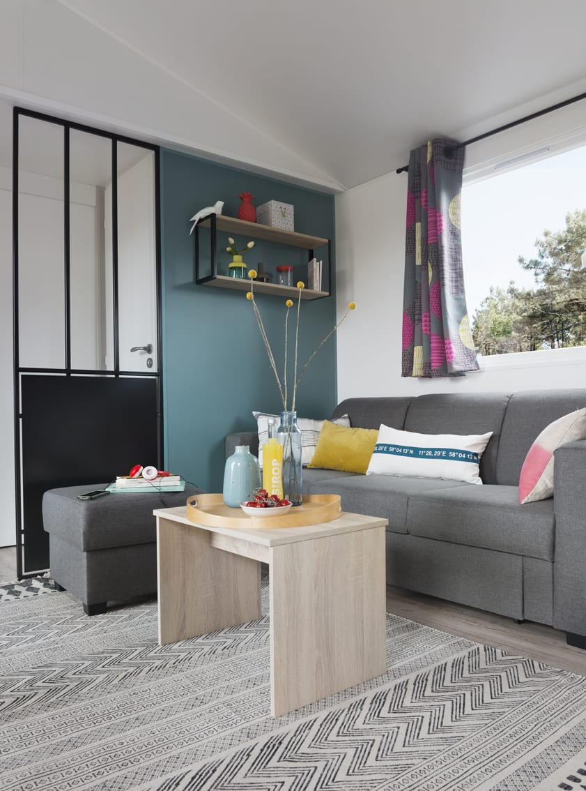 louisiane corail mobil home neuf gamme vacance zen mobil homes. Black Bedroom Furniture Sets. Home Design Ideas