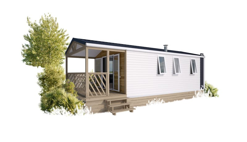 IRM LOGGIA BAY – 2021 – Mobil Home NEUF – GAMME LOGGIA – 2 Chambres – Collection 2021