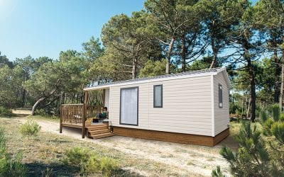 RIDOREV MALAGA DUO – Mobil home neuf – Panoramique – 2 chambres – Collection 2019