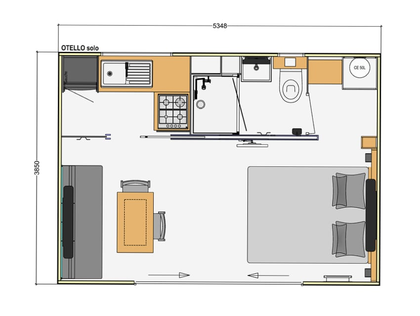 RIDOREV OTELLO SOLO - Mobil home neuf - 2020 - Zen Mobil homes