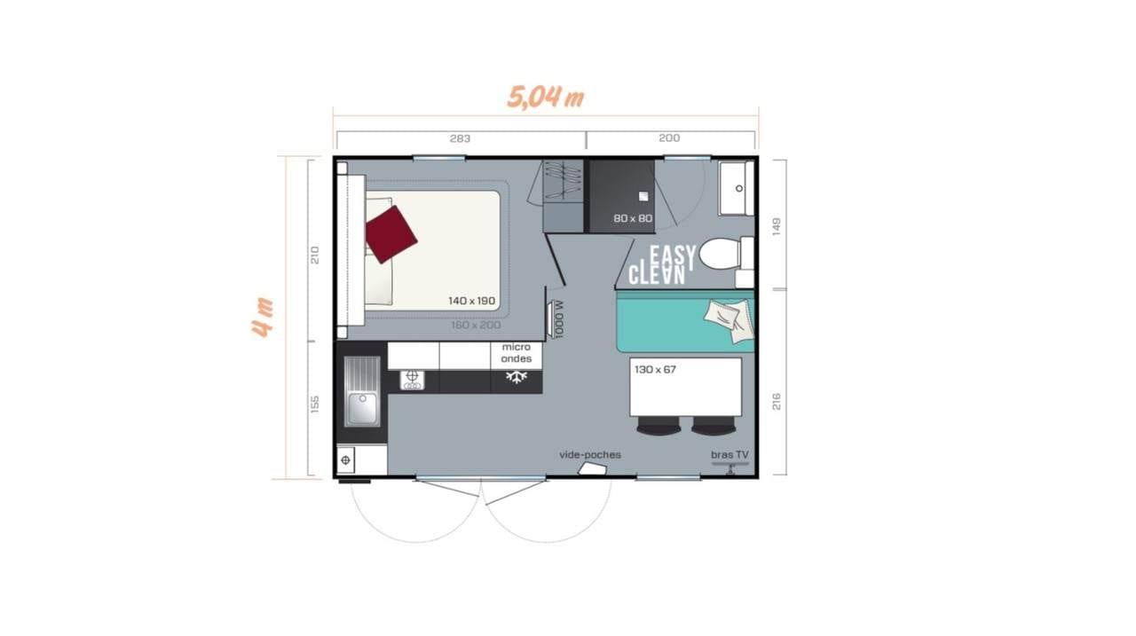 Irm Cahita Riviera - 2020 - Mobil home Neuf - Zen Mobil homes