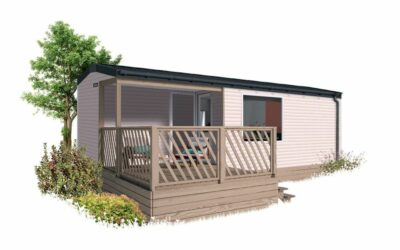 IRM LOGGIA 2 – 2022 – Mobil Home Neuf – Gamme LOGGIA – 2 Chambres – Collection 2022
