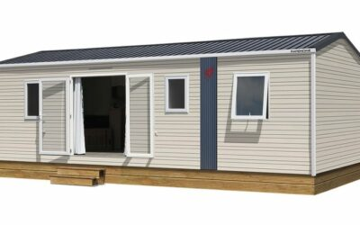 Rapidhome Lodge 83 – Neuf – Gamme Locative – 3 Chambres – Collection 2021