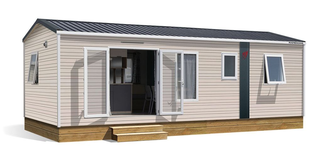 Rapidhome Lodge 87 – Neuf – Gamme Locative – 3 chambres – Collection 2021