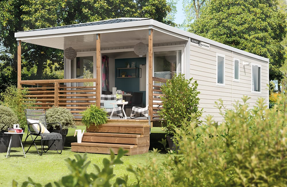 LOUISIANE MEDITERRANEE GRAND AIR – Mobil home neuf – Vacance – Collection 2018
