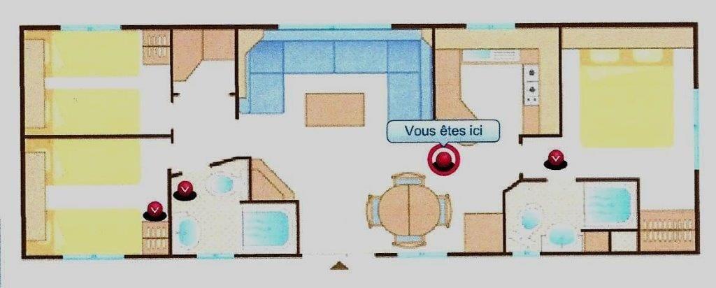 Cosalt Harmony - 2007 - Mobil home d'occ - 11 000€ - Zen Mobil homes