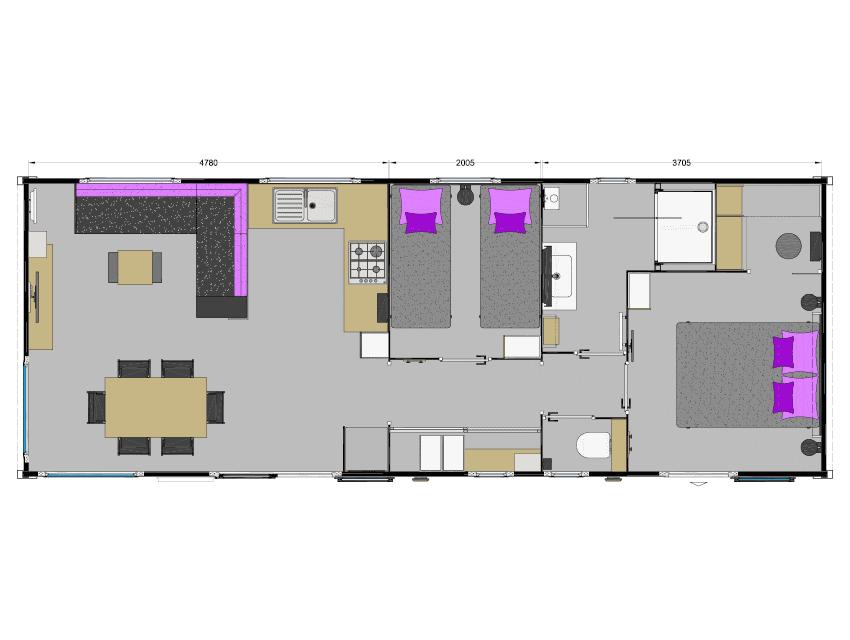 plan intérieur