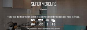 IRM SUPER MERCURE - Mobil home neuf - 2018 - Zen Mobil homes