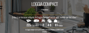Irm Loggia Compact - mobil home neuf - 2018 - Zen mobil homes