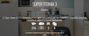 IRM SUPER TITANIA 3 - Mobil home neuf - 2018 - Zen Mobil homes