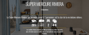 Irm Super Mercure riviera - Mobil home neuf - 2018 - Zen Mobil homes