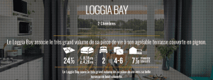 IRM LOGGIA BAY - Mobil home neuf - 2018 - Zen Mobilhome