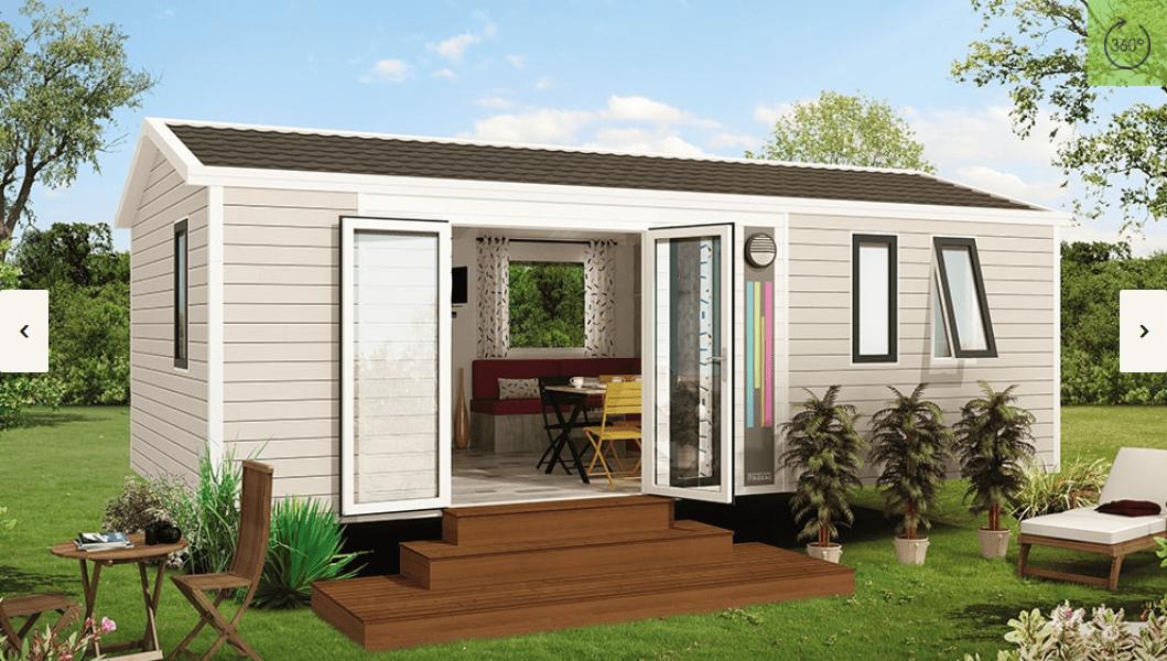 RIDOREV BAHIA DUO COMPACT – Mobil home neuf – Panoramique – Collection 2018