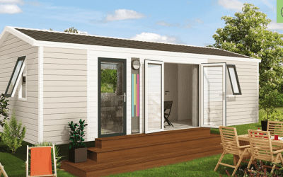RIDOREV BAHIA DUO – Mobil home neuf – Panoramique – 2 chambres – Collection 2019