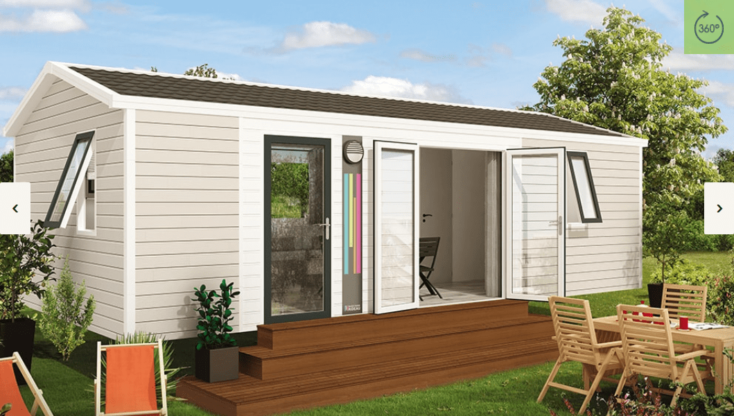 RIDOREV BAHIA DUO – Mobil home neuf – Gamme Panoramique – Nouveauté 2018