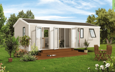 RIDOREV BAHIA TRIO – Mobil home neuf – Panoramique – 3 chambres – Collection 2019