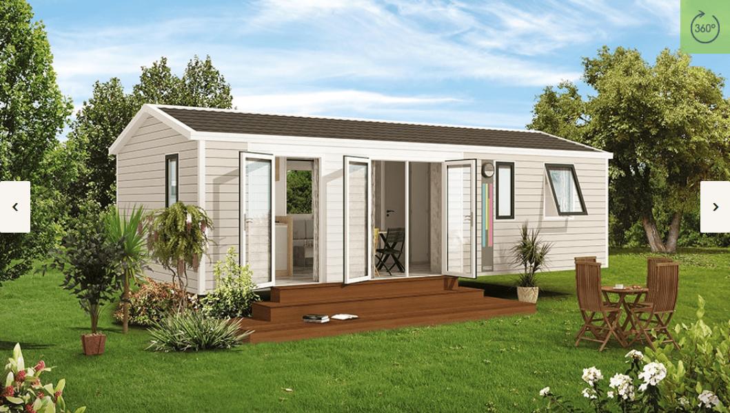 RIDOREV BAHIA TRIO – Mobil home neuf – Gamme Panoramique – Collection 2018