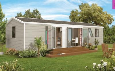 RIDOREV GENOA TRIO ESPACE – Mobil home neuf – RESIDENTIEL – Collection 2018