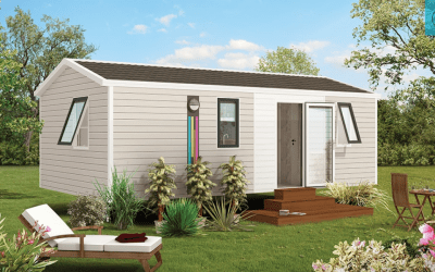 RIDOREV IBIZA DUO – Mobil home neuf – Gamme Essentiels – 2 chambres – Collection 2019