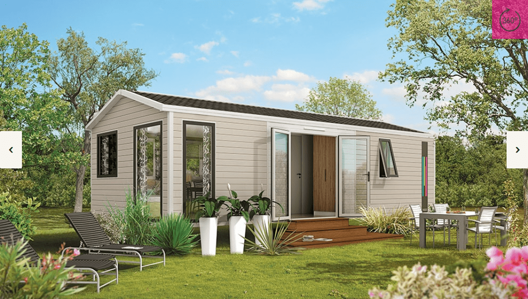 RIDOREV LUGANO DUO – Mobil home neuf – RESIDENTIEL – Collection 2018