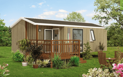 RIDOREV MALAGA DUO – Mobil home neuf – Gamme Panoramique – Collection 2018