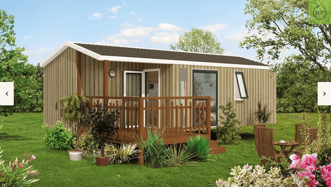 RIDOREV MALAGA DUO – Mobil home neuf – Gamme Panoramique – Collection 2018