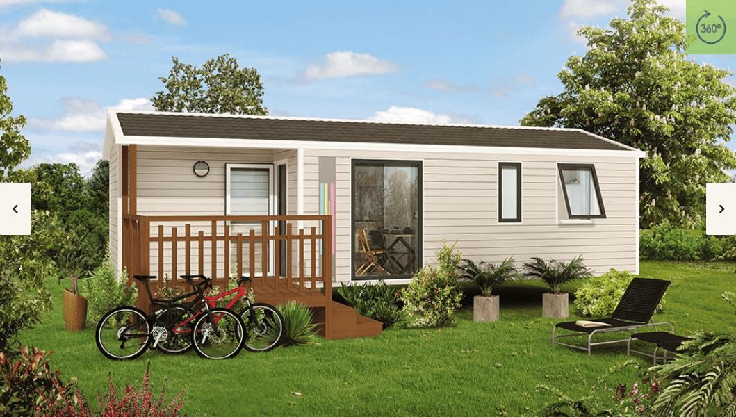 RIDOREV MALAGA TRIO – Mobil home neuf – Gamme Panoramique – Collection 2018