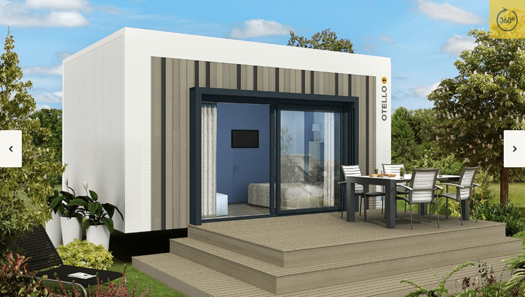 RIDOREV OTELLO SOLO – Mobil home neuf – Gamme Alternatifs – Collection 2018