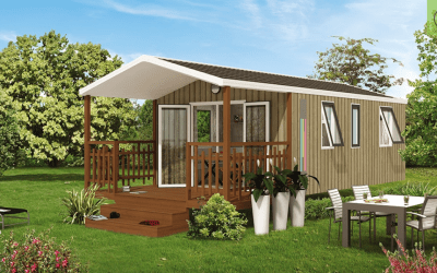 RIDOREV PANAMA DUO – Mobil home neuf – Panoramique – 2 chambres – Collection 2019
