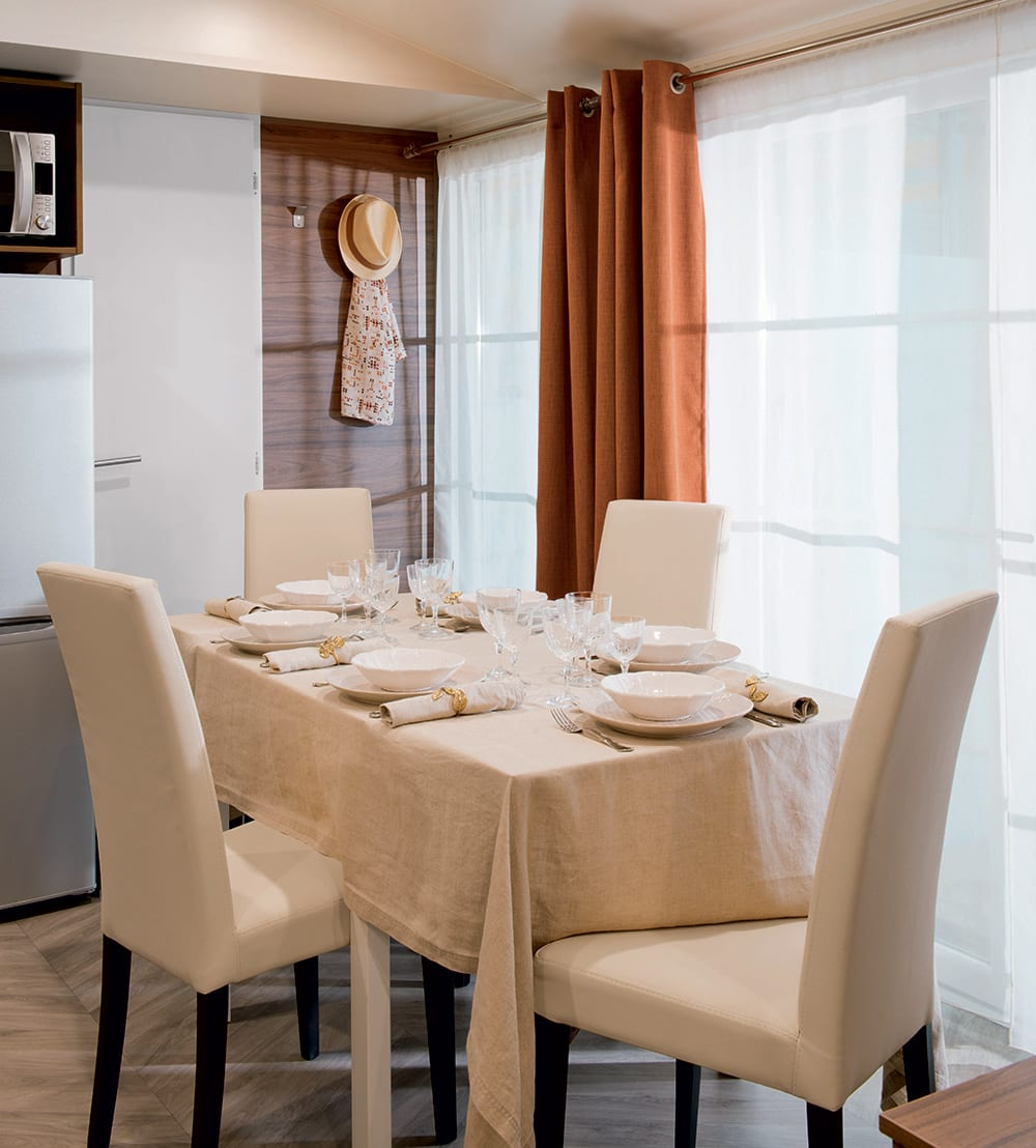 Irm long island 3 mobil home neuf residentiel zen for Salle a manger zen home