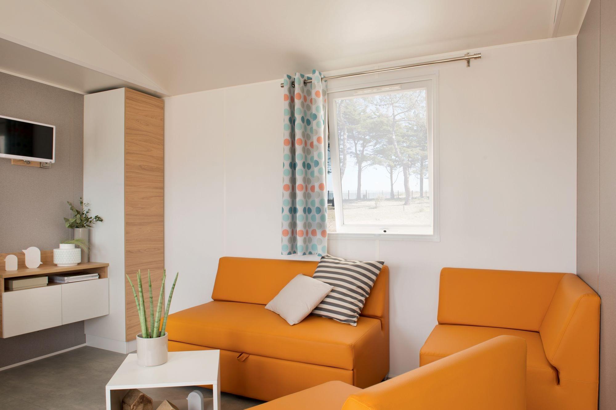 O 39 hara 1064 mobil home neuf 2018 zen mobil homes for Salon mobil home