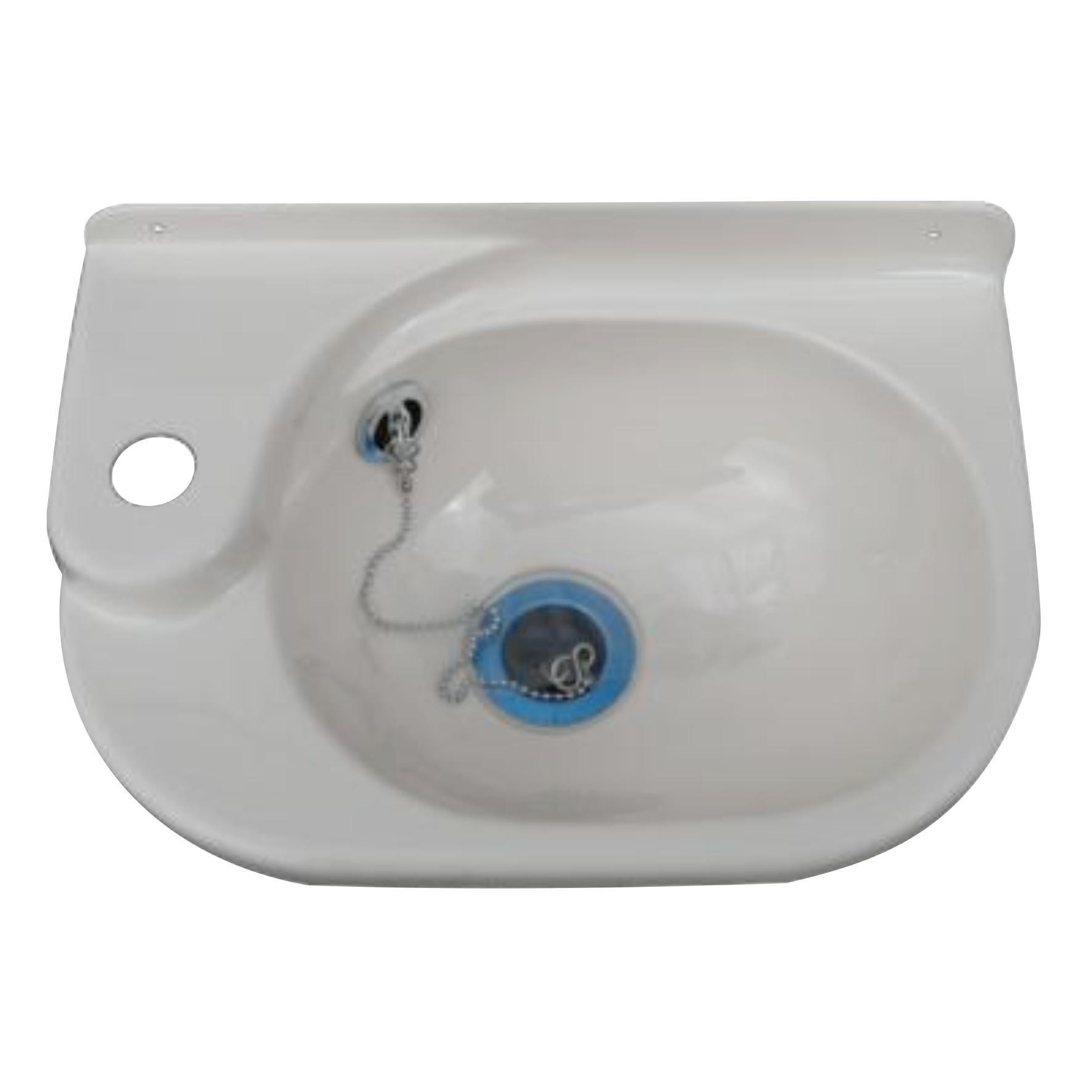 Petit lavabo plastique k248 w pièce détachée anglaise zen mobil homes